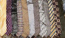 DKNY, Nipon, Jones New York, Beene etc. LOT 12 Silk Men Neckties (LOT 2472)