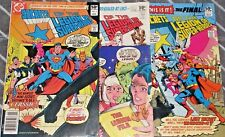 LEGION OF SUPER-HEROES #1,2,3 (NM-) Full Set! Origin Retold! 1981 DC SUPERBOY