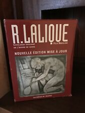 RENE R. LALIQUE - Felix Marcilhac - Catalogue Raisonne  No reasonable offer Refu