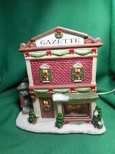 St. Nicholas Square  Gazette Building   Christmas Village