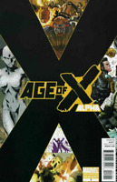 Age of X Alpha #1  Marvel Comic Book 2nd Print Variant NM