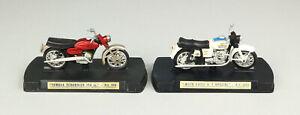 MERCURY 1:24 Moto Guzzi V.7 603 + Yamaha Scrambler 350 cc 606 Motorrad OVP