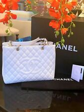 CHANEL Caviar Tote with Authenticit