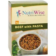 NUTRIWISE | Beef with Pasta  Diet Soup | High Protein, Fat Free, Low Calorie
