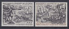 French Southern & Antarctic Territory C26-27 MNH 1972 FSAT Airmail Set VF