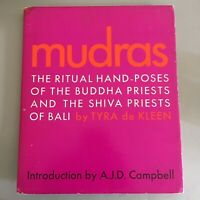 MUDRAS ~ RITUAL HAND-POSES of the BUDDHA PRIESTS & SHIVA PRIESTS by T. de Kleen