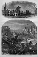 COLT'S ARMORY FIRE DESTRUCTION, 1864 HARTFORD HISTORY