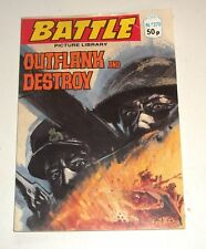 #270 Battle Picture Library - OUTFLANK AND DESTROY  -  1980's