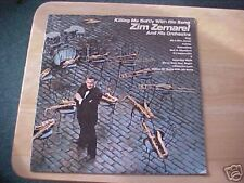 ZIM ZEMAREL & HIS ORCHASTRA  LP RECORD KILLING ME SOFT