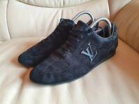 Louis Vuitton Ladies Black Trainers Sneakers Shoes size   38.5   UK 5.5  US 8.5