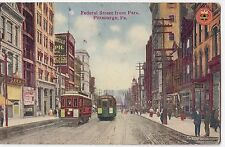 USA; Federal Street From Park, Pittsburgh, PA PPC Unposted, by Fort Pitt Pub.