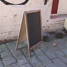 Large A-Frame Chalkboard, Recycled Timber, Rustic Blackboard, Sandwich Board