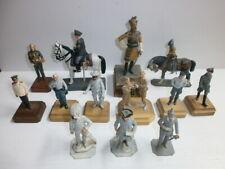 14 Military Metal Figures Kaiser Wilhelm Marshall Tschuikow Franz Joseph