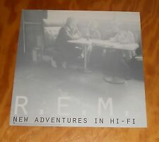 R.E.M. New Adventures in Hi-Fi Poster 2-Sided Flat 1996 Promo 12x12