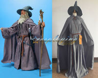 The Lord of the Rings Halloween Cos Gandalf Mithrandir Wizard Cosplay Costume