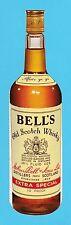 ADVERTISING  -  BELLS  -  DIE  CUT  BELLS  SCOTCH  WHISKY  ADVERTISING  CARD