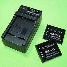 For Canon PowerShot A2300 A3400 A2400 A4000 IS A2500 A2600 A3500 Battery Charger