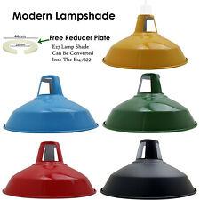 Retro Kuppel Licht Farbtöne Vintage Decke Anhänger Lampenschirme Metall Diverse