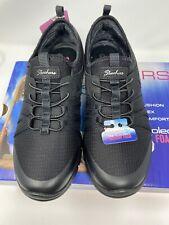 Women's Skechers Flex with Air-Cooled Memory Foam Sneakers 7.5 New Black
