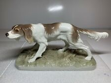 Nymphenburg Irish Setter Dog Figurine by Pierre Jules Mene 429