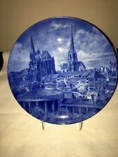 *Rare Kaiser Stadteteller Porcelain Plate of Aachen! Gorgeous Collector Piece*