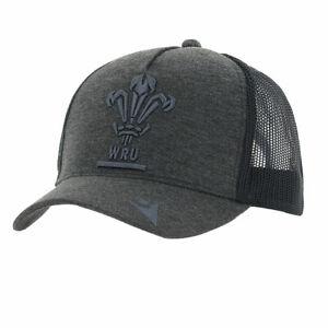 MACRON wales rugby (WRU) trucker cap [grey]