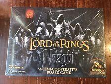 New Lord Of The Rings Nazgul Semi Cooperative Fantasy Board Game201`2 Wizkidz