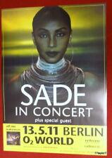 Sade      Tourplakat   13.5.2011     Berlin