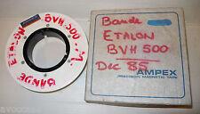 BANDE ETALON POUR MAGNETOSCOPE A BANDE SONY BVH500