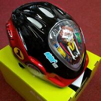 Alpha Plus Junior Helmet No 1 Car 52-56cm Dial Fit