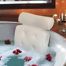 Bath Pillow Luxury Spa Bathtub Cushion 3D-Mesh Head,Neck,and Shoulder Support wi