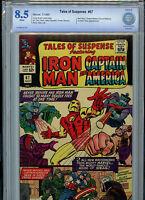 Tales of Suspense #67 Silver Age Marvel Comics CBCS 8.5 VF+ 1965