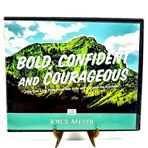 Joyce Meyer Bold Confident and Courageous (5 CD Set) Live Free From Guilt