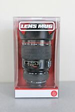 NIB Thumbs Up! Camera Lens Coffee Mug Cup w/Cover Lid BPA Free Ship FREE