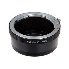 Fotodiox Objektivadapter Pentax K (PK) Linse für Micro Four Thirds (MFT, M4/3)