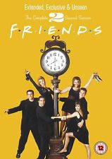 Friends - Series 2 (DVD, 2010, 4-Disc Set, Box Set) FREE SHIPPING
