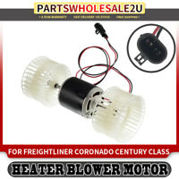 Heater Blower Motor w/ Dual Wheel for Freightliner FLD120 91-04 FLD132 2001-2004