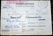 Zensur Brief OFLAG VIII H 5 geprüft Gefangenenpost 1941 (51