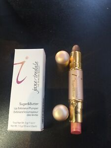 Jane Iredale Sugar & Butter, Lip Exfoliator And Plumper