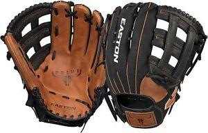 "New Other Easton Prime Series 14"" PSP14 Slowpitch Softball Glove RHT Black/Brown"