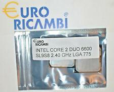 INTEL CORE 2 DUO E6600 SL9S8 2.40GHz 4MB LGA 775 Fattura & Ricevuta Garanzia