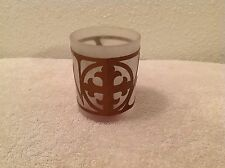"""Hallmark """"AMEN"""" Frosted Glass Votive Candle Holder~Christmas~Easter~Every Day!"""