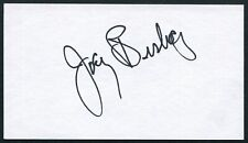 Joey Bishop Signed 3X5 Index Card Rat Pack Ocean'S 11 Actor Comedian Talk Show