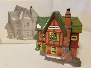 Department Dept 56 Dickens Village Browning Cottage Heritage Village #5824-6 Box