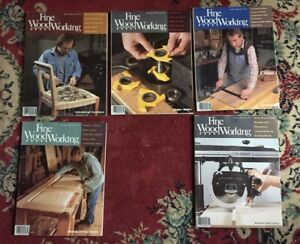 FINE WOODWORKING MAGAZINE   LOT OF 5  YEAR 1988