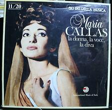 RECORD SEALED MARIA CALLAS LA DONNA LA VOCE LA DIVA GLI DEI DELLA MUSICA 11/20