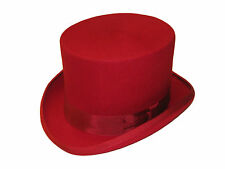 Quality Wedding Event Ascot Felt Hat Hand Made 100% Wool Top Hat  - Posted Boxed