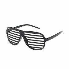 Unisex Shutter Shades / Glasses - Black