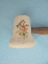 25400 antiker Fleischklopfer Porzellan Blumendekor vint tenderizer porcelaine