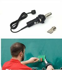230v Forsthoff QL Hot Air Welding Tool/Gun PVC Tarpaulin Side Curtain Repair HGV